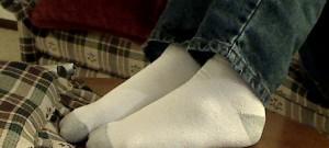 Jak vyčistit zašedlé bílé ponožky?