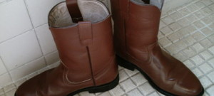 Jak vyčistit skvrny (mapy) od vody z kožených bot?