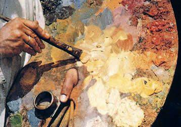 Jak vyčistit olejové barvy z oblečení?