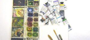 Jak z koberce vyčistit dětské vodové barvy?
