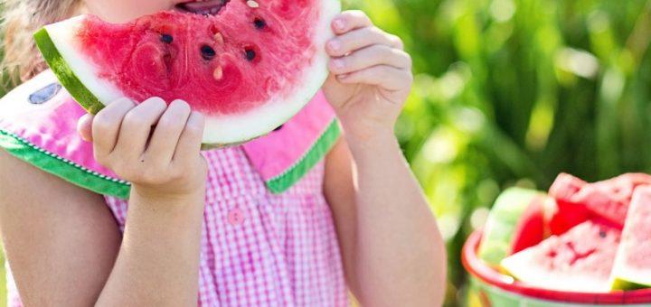 Jak vyčistit skvrny od melounu?