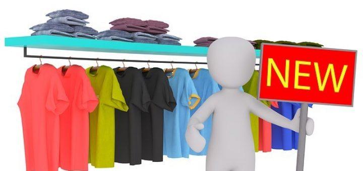 Jak odstranit zápach z nového oblečení?