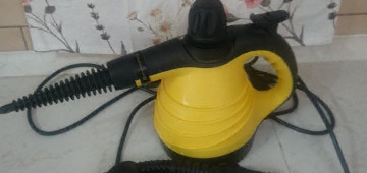 Parní čistič SENCOR SSC3001YL včetně příslušenství