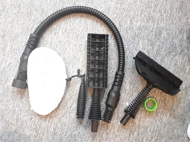 Parní mop MAXXX 5v1 - příslušenství