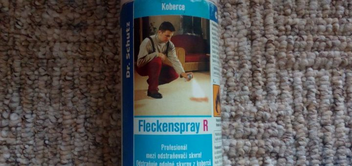 Čistič skvrn DrSchutz CC Fleckenspray R