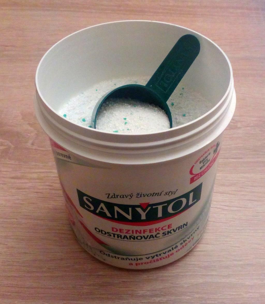 Sanytol dezinfekční odstraňovač skvrn