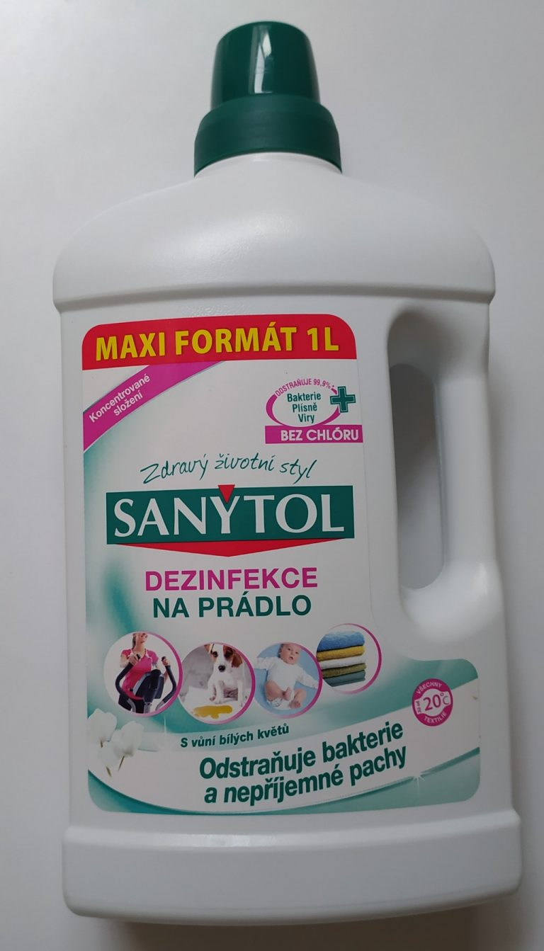 Sanytol dezinfekce na prádlo