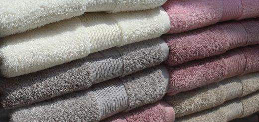 Jak prát ručníky, osušky a utěrky?