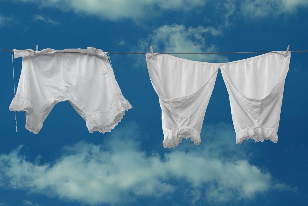 Jak prát spodní prádlo?