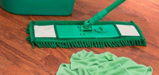 Jak vyčistit mop na podlahy?