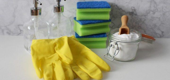 Jak si vyrobit domácí ekologické čistící prostředky?