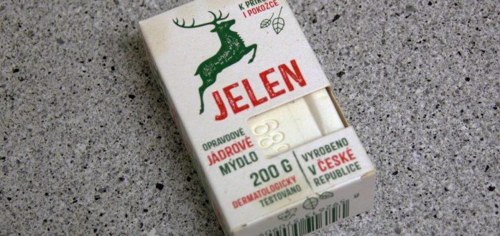 Jádrové mýdlo Jelen značky Schicht
