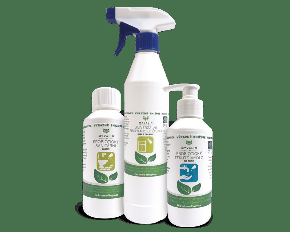 Hygienická sada výrobků Myvalin