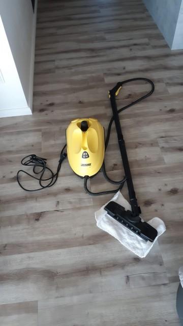 Parní čistič Kärcher SC2 EasyFix s podlahovou hubicí a padem z mikrovlákna
