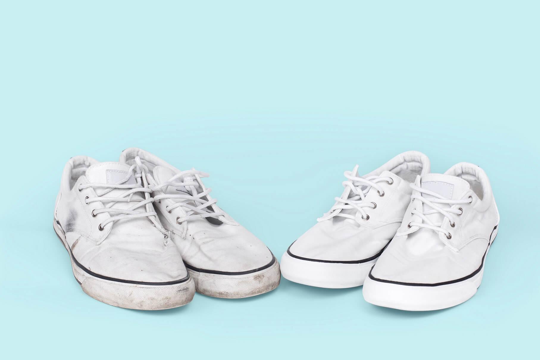 Jak vyčistit bílé tenisky?