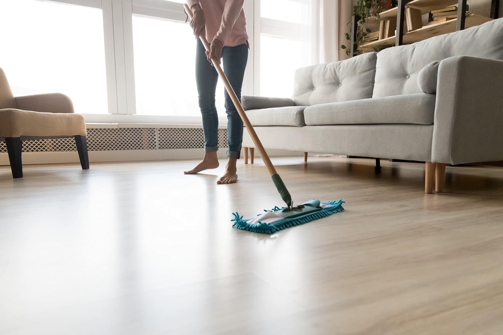 Jak čistit laminátovou podlahu?